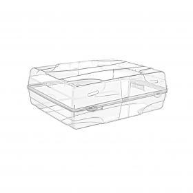 Super Bag ASR 5009 Bay - Bayan Bot Çizme Saklama Kutusu - Şeffaf, Plastik