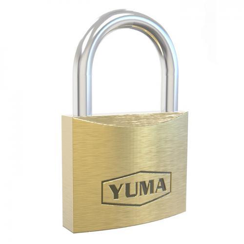 Yuma, YM-2040, Asma Kilitler, Yuma (Türk Malı) Prinç Asma Kilit 40 mm