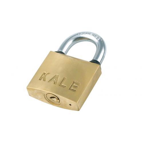 Kale Kilit, KD-001/10-260, Asma Kilitler, Kale Sarı Asma Kilit 63mm