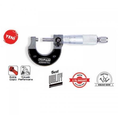 Tomax, 03072510, Kumpaslar, Tomax Mikrometre 0-25 mm