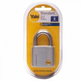 Yale 70 mm Krom Kaplamalı Asma Kilit - Dış Mekana Uygun