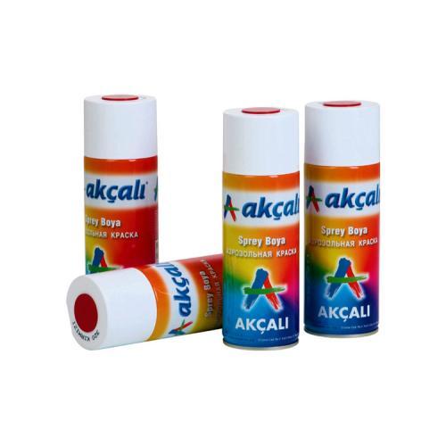 Akçalı, OZK-ACSBMR, Sprey Boyalar, Akçalı Üst Kalite Sprey Boya 400 ml - Metalik Renkler