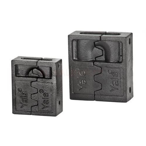 Yale, Y345-80-BK, Asma Kilitler, Yale 63mm Asma Kilit için Koruyucu Çelik Gövde