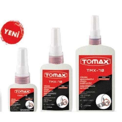 Tomax, 01110250, Yapıştırıcı & Tutkallar, Tomax Sökülmez Civata Sabitleyici - 250 ml