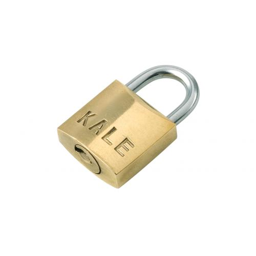 Kale Kilit, KD-001/10-225, Asma Kilitler, Kale Sarı Asma Kilit 25mm