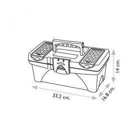 "Super Bag ASR-2040 14"" Takım Çantası - Plastik Kilitli"