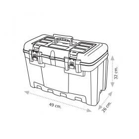 "Super Bag ASR-2013 19"" Takım Çantası - Plastik Kilitli"