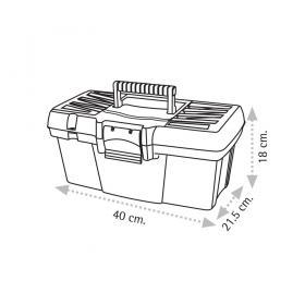 "Super Bag ASR-4013 16"" Takım Çantası - Plastik Kilitli"