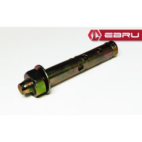 Ebru, Ebru-331, Dübeller, Ebru Gömlekli Çelik Dübel 10x110 (50 Adet)
