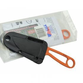 İzula Esee 51455ORG Turuncu Kamp Bıçağı 16 cm - Komple Metal, Plastik Kılıflı