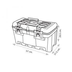"Super Bag ASR-2082 22"" Takım Çantası - Plastik Kilitli"