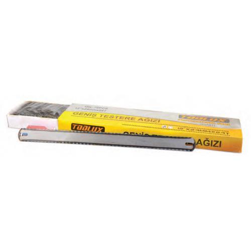 Toolux, DDA61112A, Demir Testereleri, Toolux Geniş Demir Testere Ağzı Çift Taraflı - 12 Adet