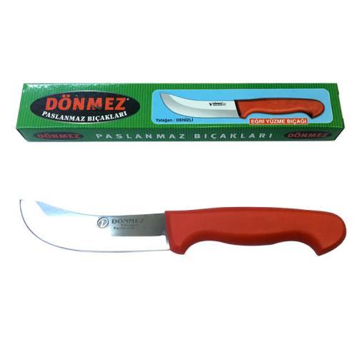 , OZK-DYDYBN0, Mutfak, Dönmez Yatağan Deri Yüzme Bıçağı No:0, 12 cm