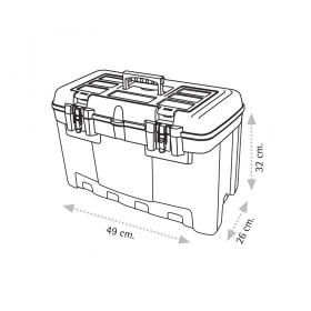 "Super Bag ASR-2021 21"" Takım Çantası - Metal Kilitli"