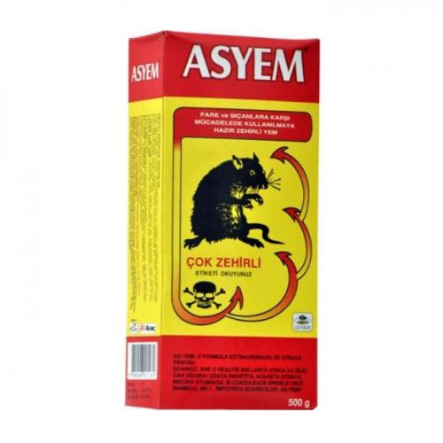 , OZK-ASFZ250, Kapan & Yakalayıcılar, Asyem Buğdaylı Fare Zehiri 250 gr