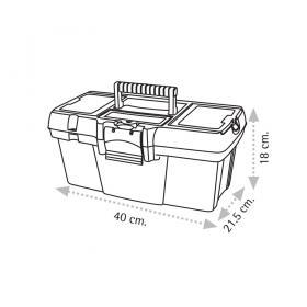 "Super Bag ASR-2060 16"" Takım Çantası - Plastik Kilitli"
