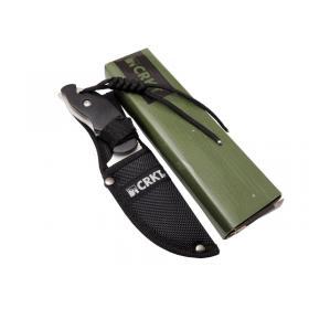 Crkt Civet 2805 SW Tırtıklı Kamp Bıçak 18 cm - Plastik Sap, Kılıflı, İpli