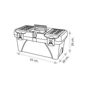 "Super Bag ASR-2048 22"" Takım Çantası - Plastik Kilitli"