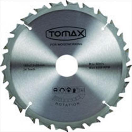 Tomax, 08216024, Kesici Diskler & Uçlar, Tomax Sunta Kesme Testeresi (Elmaslı) 160/1,8 20-30 Göbek 24 T Diş
