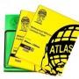 Atlas, 69957301601, Zımpara & Eğeler, Atlas Su Zımparası 180 Kum - 188 Kalite, 230x280 mm Tabaka Kağıt