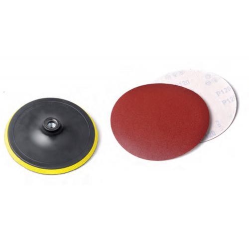Eltos, CDA433, Taşlama & Zımpara Aksesuarları, Eltos Cırtlı Disk Altı 180mm - Yedek Zımparalı