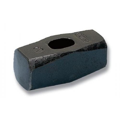 , DB003, Çekiç, Tokmak & Keserler, Düz Balyoz 3 kg - Dövme Çelik, Sapsız