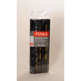 Pinax Marangoz Kalemi - Siyah, 144 Adet (1 Grosa)