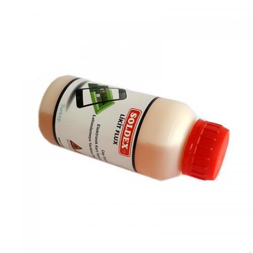 Soldex, OZK-SR4102, Flux, Özel Su & Alkoller, Soldex ASR41 250 ml - Reçine Bazlı Kırmızı Lehim Suyu