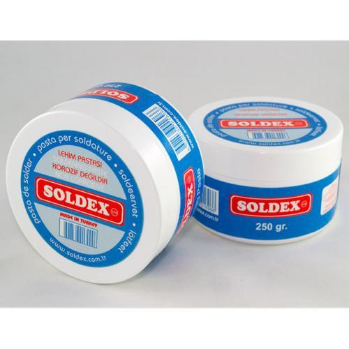 Soldex, OZK-LP250, Hammadde & Malzemeler, Soldex Lehimleme Pastası 250 gr