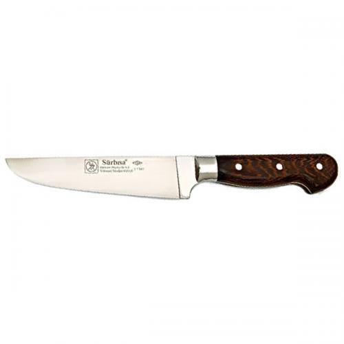 Sürbısa, SR61010YM, Kasap & Kurban Bıçakları, Sürbısa 61010YM - Sürmene Yöresel Kasap Deri Yüzme Bıçağı 15 cm