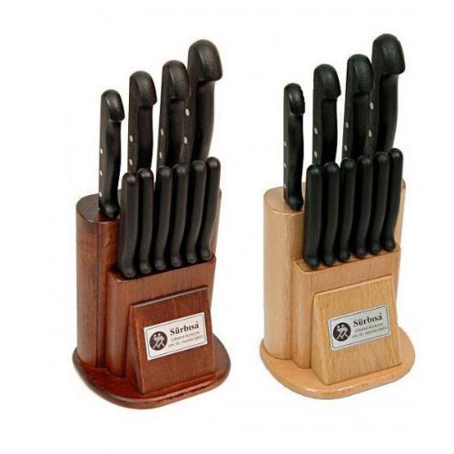 Sürbısa, SR61500, , Sürbısa 61500 - Sürmene Mutfak Bıçağı Seti - 10 lu Set